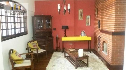 Imagem 1 de 30 de Casa Residencial À Venda, Vila Nova Aparecida, Mogi Das Cruzes - . - Ca0319