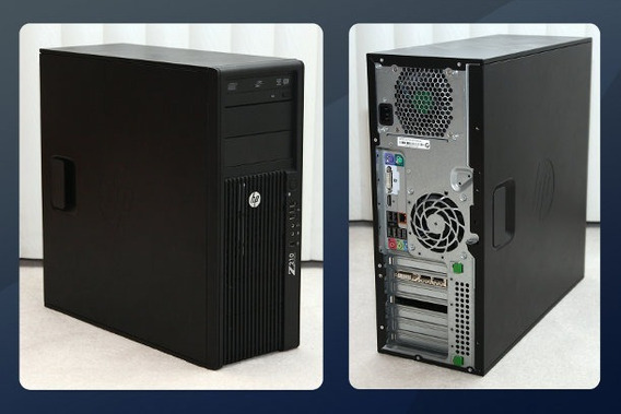 Kit Workstation Hp Z220 Xeon 16gb 500gb + Monitor 24 Fullhd