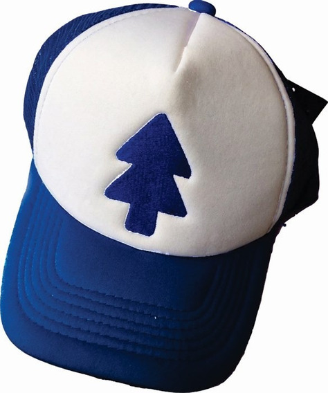 Gorra Bordada Dipper Gravity Falls Cosplay Disfraz Ajustable