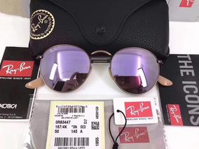 dcac31fcab Lilas De Sol Ray Ban Round - Óculos no Mercado Livre Brasil