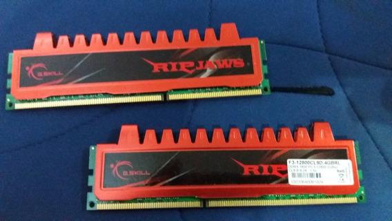 Ripjaws Ddr3 Memória 4gb (2+2), 1600 Mhz, Frete Incluso