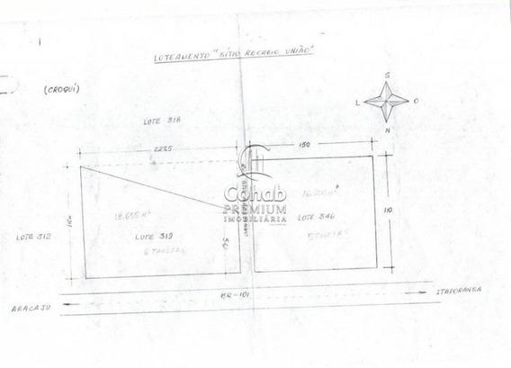 """Área Na Br 101 No Loteamento """"sítio Recreio União"""" - Cp664"""