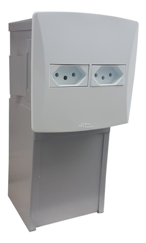 Imagem 1 de 9 de Cofre Invisivel Tomada Com Ligação Elétrica Pronta