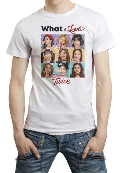 Twice Playera Hombre Mujer What Is Love Kpop Once