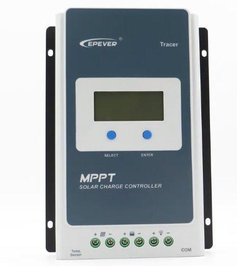 Controlador De Carga Mppt 10a Tracer 1210 10 Amperes 12v 24v