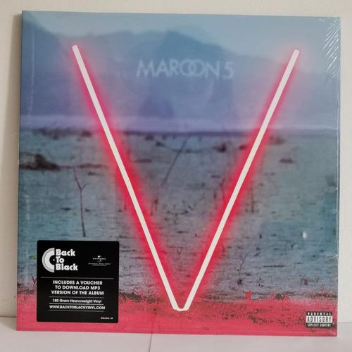 Maroon 5 V Vinilo Nuevo Eu Musicovinyl
