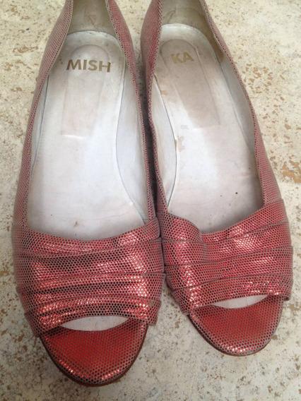 Zapatos Chatitas Mishka Tornasolados