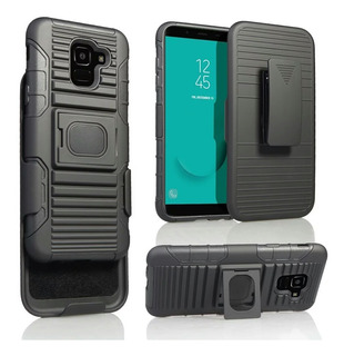 Capa Case Samsung J6 J600 2018 5.6 Poleg + Pelicula Vidro