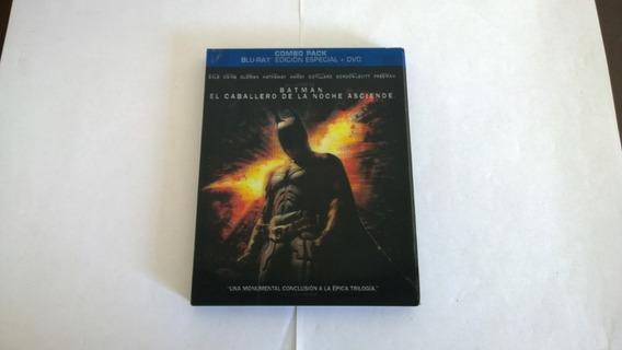 Batman The Dark Knight Rises 2 Bluray+ Dvd Con Slipcover