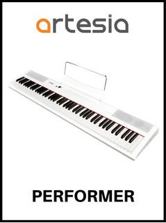 Combo De Piano Digital Performer Artesia Base Y Asiento