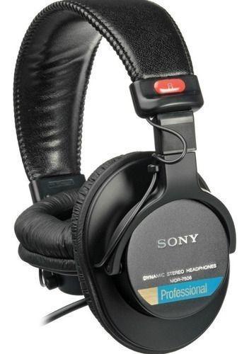Sony Mdr-7506 Fone Profissional Original Headphone