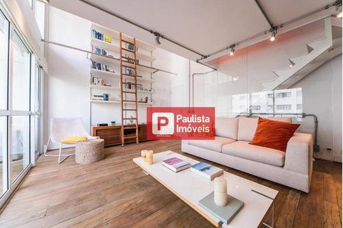 Apartamento Com 1 Dormitório Para Alugar, 75 M²  - Vila Nova Conceição - São Paulo/sp - Ap32289