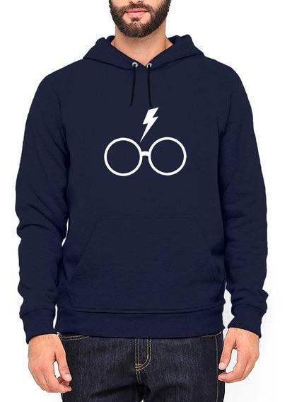 Moletom Harry Potter Fã Óculos Blusa Alta Qualidade #30