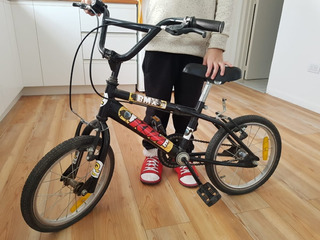 Bicicleta Wal-her 14 Niños Freestyle Pintada