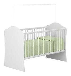 Cuna Infantil C/ Ajuste Altura Base Colchon 7031