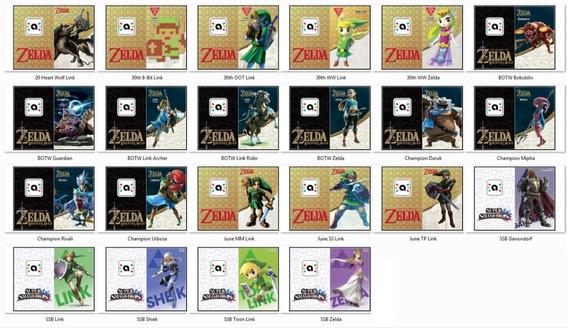 Amiibo Zelda - 22 Amiibos Compatíveis Com Botw.
