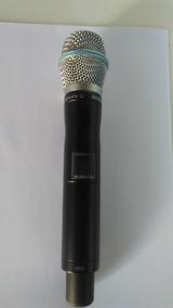 Microfone Sem Fio Ur2 Com Cápsula Beta87 Shure Original