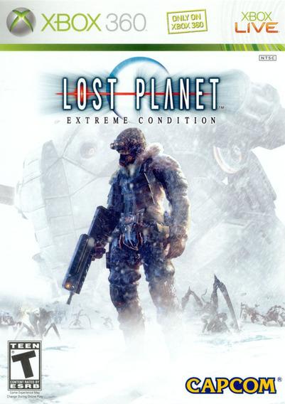 Lost Planet: Extreme Condition Xbox 360 Original Frete Cr$14
