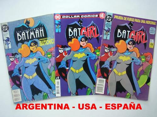 Imagen 1 de 8 de Envio Gratis Set 3 Numero 12 Batman Adventures Harley Quinn