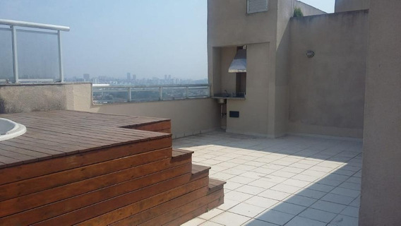 Cobertura Duplex Para Venda/locação No Morumbi I 3 Dormitórios Sendo 1 Suíte I Jacuzzi E Churrasqueira Privativas I 144m² I 3 Vagas - Co0044