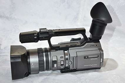 Camara Sony Mini Dv Vx-2000 3ccd Pal
