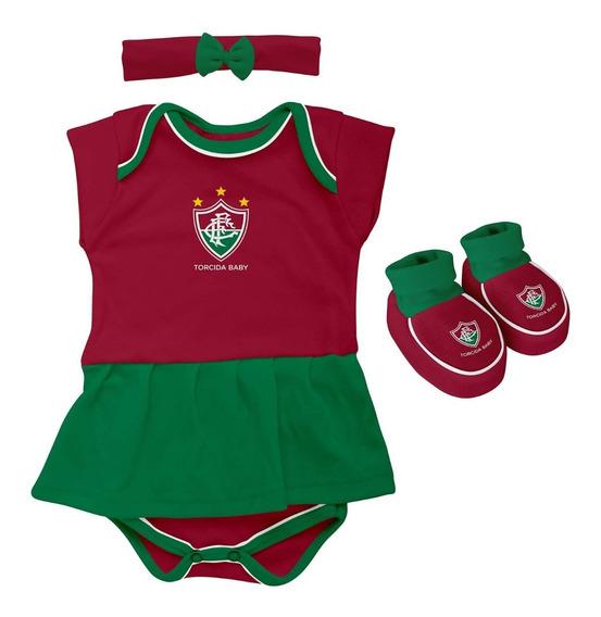 Kit Body Vestido Fluminense