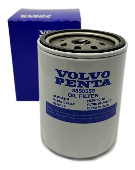 3850559 Filtro De Óleo Lub Volvo Penta 4.3 5.0 5.7 7.4 V6 V8
