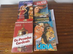 04 Livros De Romance