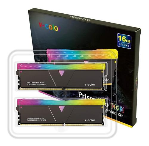 Memória V-color Prism Pro Rgb 2 X 8gb 3466mhz - Tl8g34817d