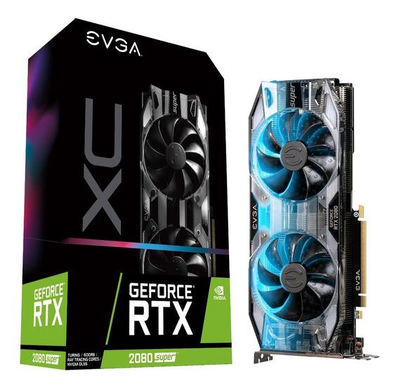 Placa Video Evga Geforce Gtx 2080 Super Xc Black 8gb Ddr6 !!