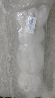 Pano De Rede Pesca Mono Nylon 0,50mm Malha 0,45mm X48 C/100m