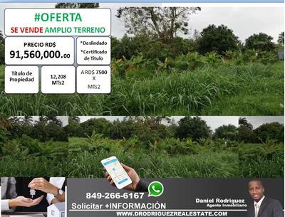 #oferta Terreno De 12,208 Mts2 Disponible En Pedro Brand