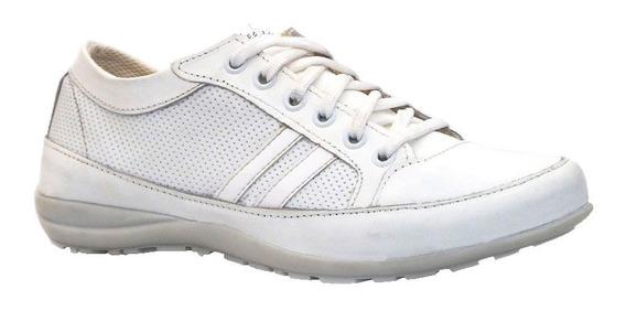 Zapatillas Mujer Urbana Crossfit Livianas Clasicas Cuero Comodas
