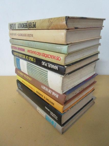 10 Livros - Melhores Autores - Capa Dura - Lote 20