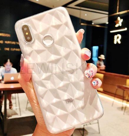 Capa Case Transparente Diamante Xiaomi Redmi Note 6 Pro