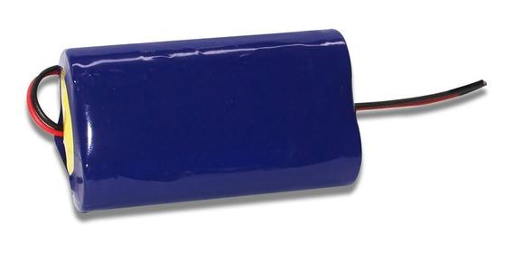 Bateria Li-ion 18650 7,4v 2600mah Lg Com Fio
