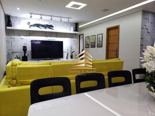 Imagem 1 de 30 de Apartamento No Condomínio Trilhas Do Bosque, 93m², 2 Dormitórios, Closet, 2 Suítes., 2 Vagas - Ap1056