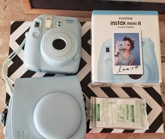 Instax Fuji Com Filme Novo E Case