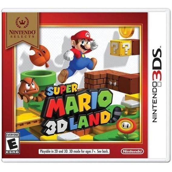 Super Mario 3d Land Nintendo 3ds Lacrado Mídia Física Novo