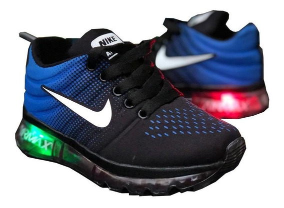 Zapato Niños,tenis Nike Camara Luces,deportivo