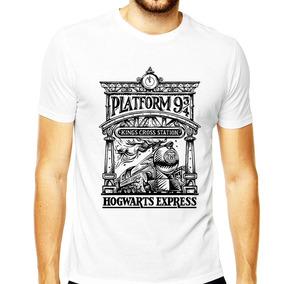 Camiseta Harry Potter Masculina Gryffindor 9 3/4 Plataforma