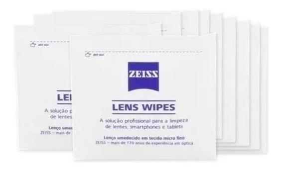 200 Lenço Umedecido Zeiss Importado Limpeza De Lentes