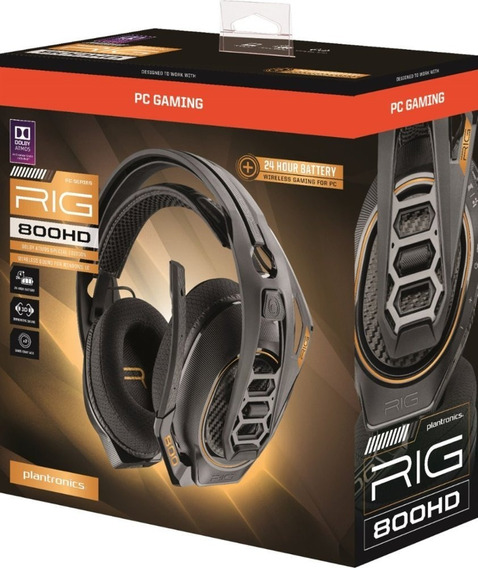 Plantronics Rig 800hd Wireless Dolby Atmos Pronta Entrega