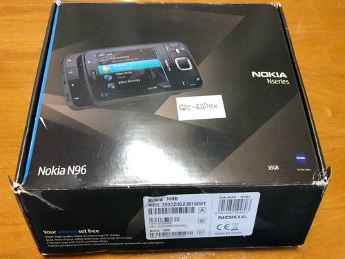 Imagem 1 de 10 de Nokia N96 Novo Na Cx Raridade!!!