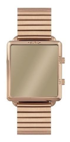 Relógio Feminino Rose Quadrado Euro Eujhs31baj/4d