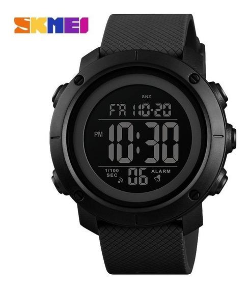 Reloj Hombre Negro Casual Metálico Digital Multifuncional