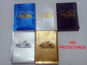 Sleeves Shields Protetor Yugioh 100unid Alta Qualidade 3ds