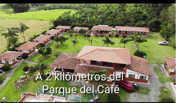 Se Vende Finca Chalet Parque Del Café Montenegro