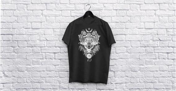 Camiseta Personalizada - Lobo