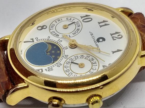 Relógio De Pulso Marca J.b. Champion Unisex